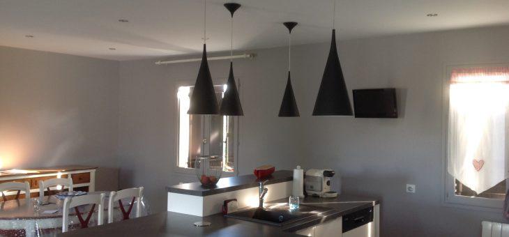 Rénovation d'un séjour cuisine